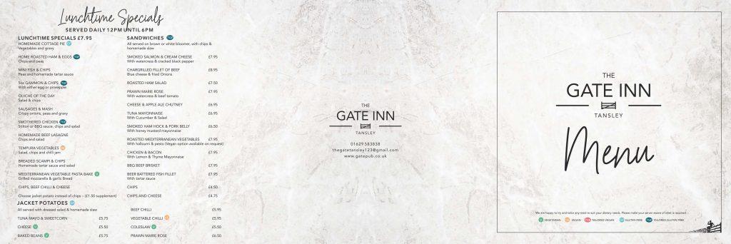 Gate Pub - Main Menu